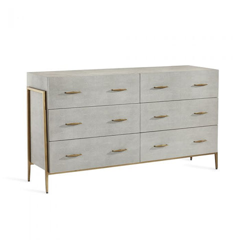 Morand 6 Drawer Chest in Grey