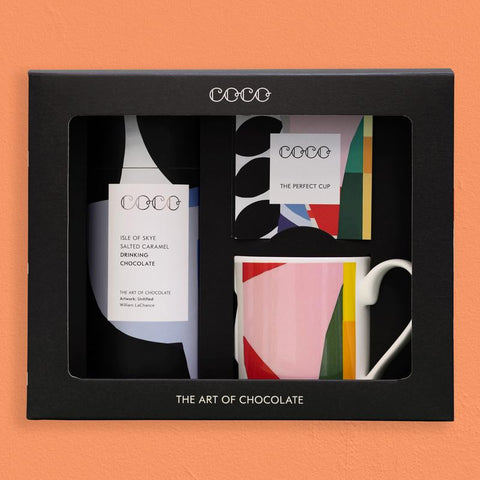 Mug & Salted Caramel Drinking Chocolate Gift Set