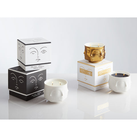Muse Noir Ceramic Candle