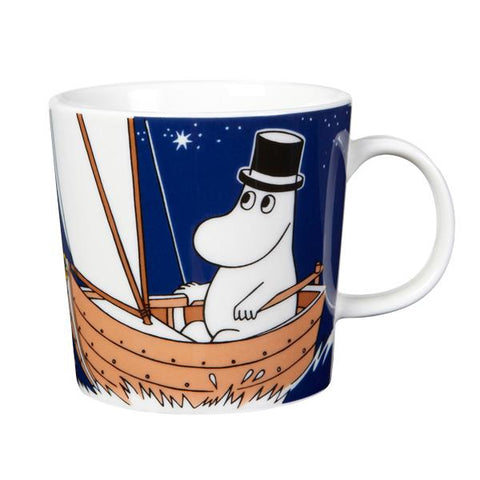 Moominpappa Deep Blue Mug Design by Tove Jansson X Tove Slotte for Iittala