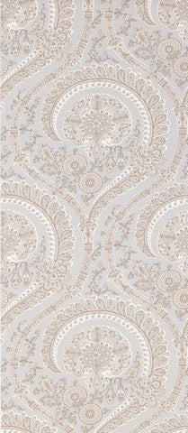 Les Indiennes Wallpaper in tan Color by Nina Campbell