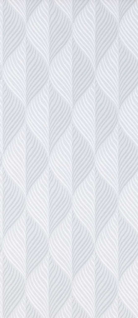 Sample Bonnelles Wallpaper in grey from the Les Indiennes Collection by Nina Campbell