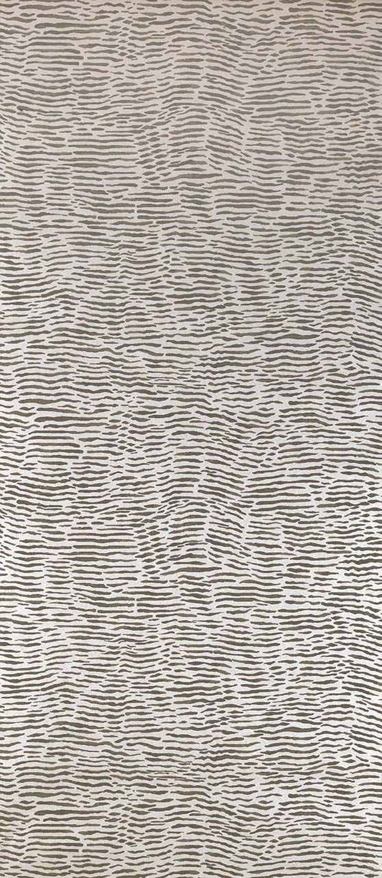 Sample Arles Wallpaper in Light Brown from the Les indiennes Collection by Osborne & Little