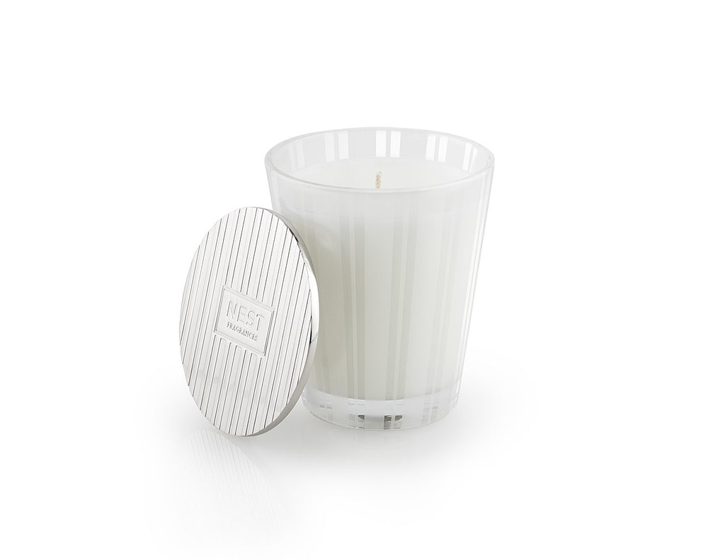 Silver Classic Candle Lid design by Nest Fragrances