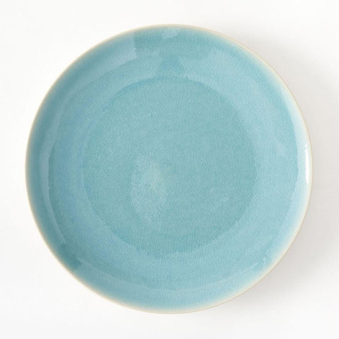 Turquoise Melamine Plate Set by Burke Decor