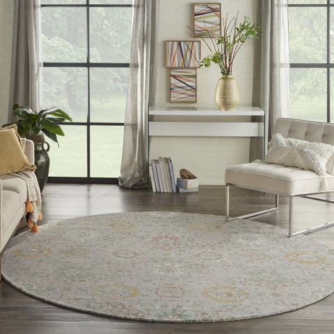 Twilight Rug in Grey & Multi by Nourison