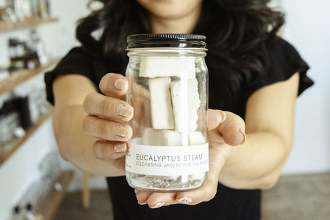 Eucalyptus Steam® Jar - Gift Size by No Tox Life
