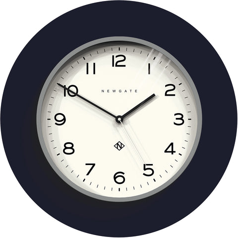 Number Three Echo Clock in Posh Grey design by Newgate