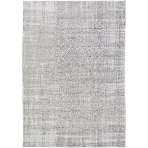 Nova Rug in Ivory & Grey design by Surya