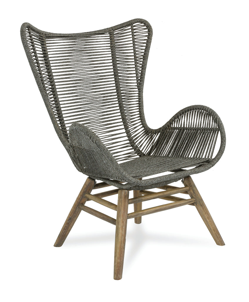 Explorer Oceans Neptune Chair and Ottoman by BD Outdoor