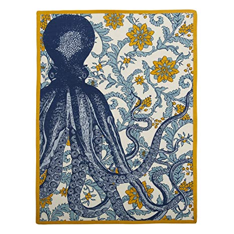 Octopus Vineyard Tea Towel by Thomas Paul