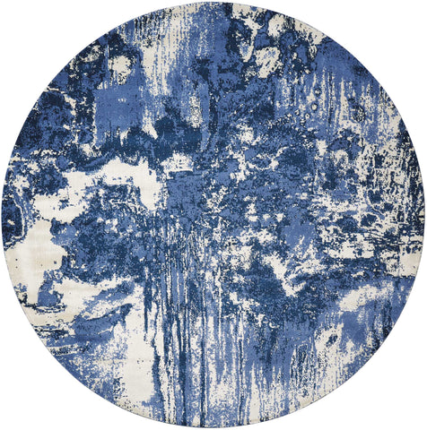 Twilight Rug in Blue/Ivory