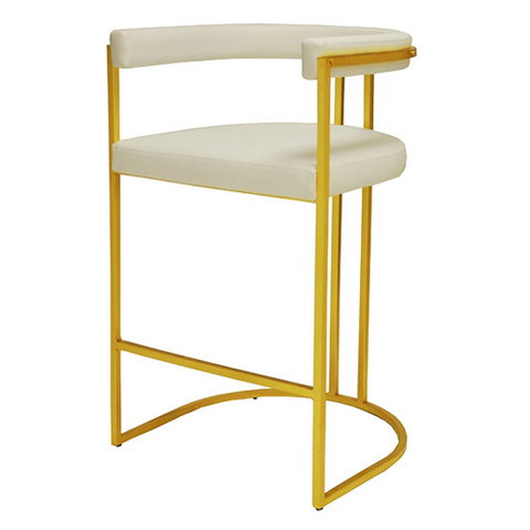 Barrel Back Bar Height Stool in Various Colors