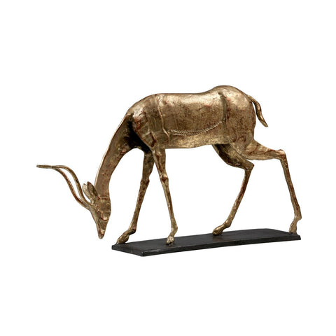 Oryx Curved Horn Statue by Bungalow 5