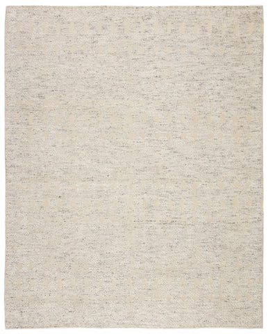 Abelle Hand-Knotted Medallion Gray/ Beige Area Rug by Jaipur Living