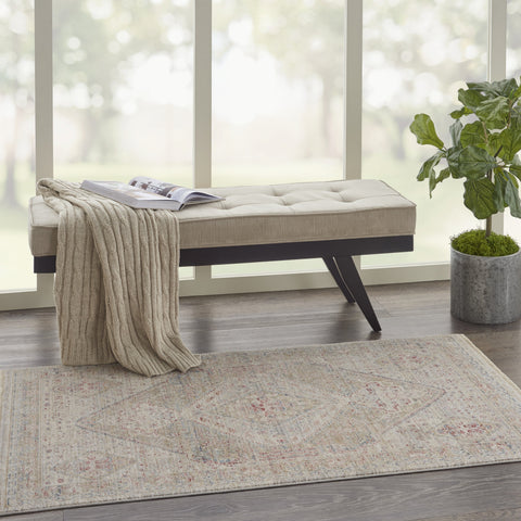 Homestead Rug in Beige/Grey by Nourison