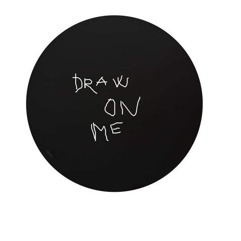 Draw On Me - Black Board by OYOY
