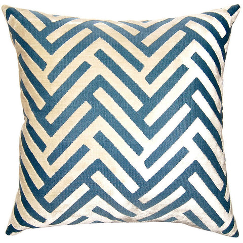 Pacific Chevron Pillow in various sizes design by Square feathers