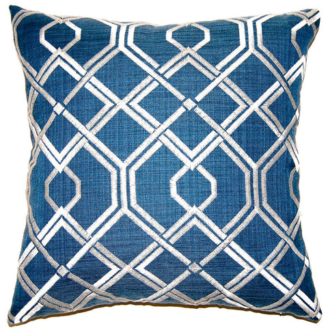Pacific Diamonds Pillow in various sizes design by Square feathers
