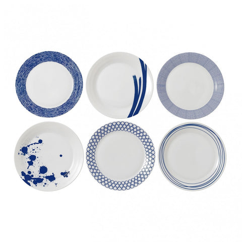 Pacific Dinner Plate Set of 6 by RD