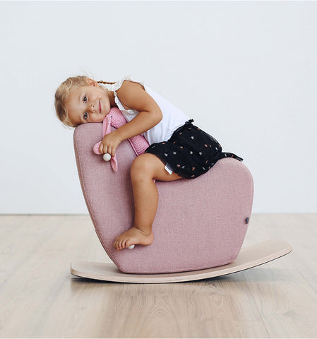 Toddler Rocking Horse in Pink