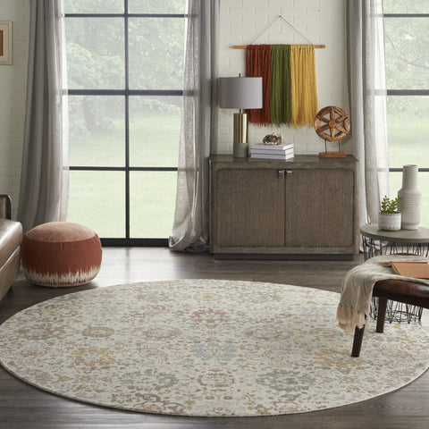 Twilight Rug in Ivory & Multi by Nourison