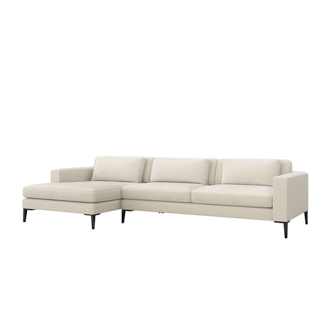 Izzy Left Chaise 2 Piece Sectional in Various Colors Design by Interlude Home