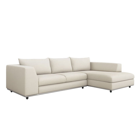 Comodo Right Chaise 2 Piece Sectional Design by Interlude Home