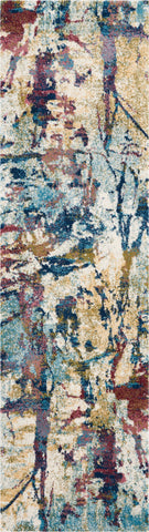 Fusion Rug in Cream/Multicolor by Nourison