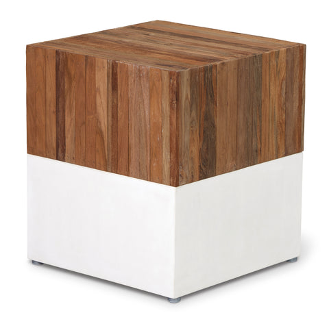 Perpetual Teak Magic Cube in Various Colors by BD Outdoor