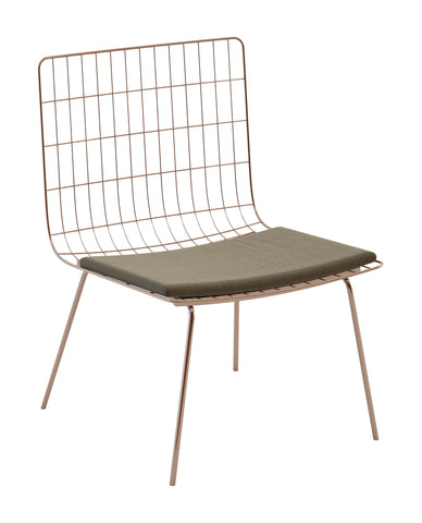Perpetual Mesh Link Lounge Chair by BD Outdoor