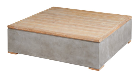 Millenia Lounge Coffee Table with Storage by BD Outdoor