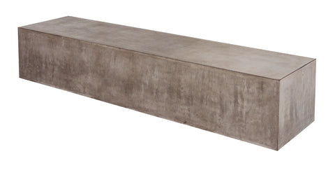 Perpetual The Monolith Bench in Various Colors by BD Outdoor