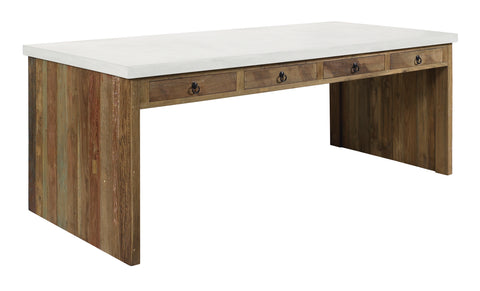 Perpetual Teak Par Table in Various Colors by BD Outdoor