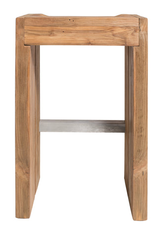 Perpetual Teak Solo Bar Stool by BD Outdoor