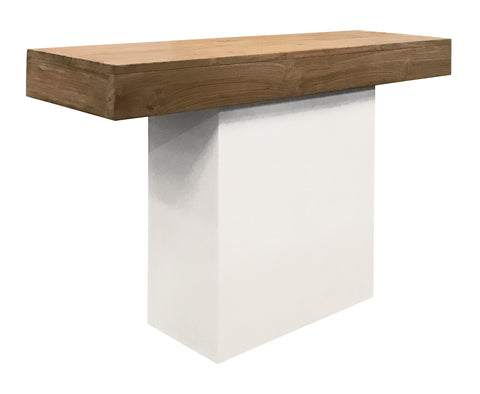 Perpetual Teak Sumatra Console Table in Various Colors by BD Outdoor
