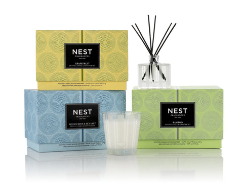 Ocean Mist & Sea Salt Petite Candle & Diffuser Set
