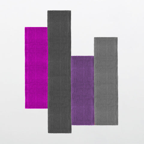 Pieces de L.A. Collection 100% Wool Area Rug in Assorted Colors design by Second Studio
