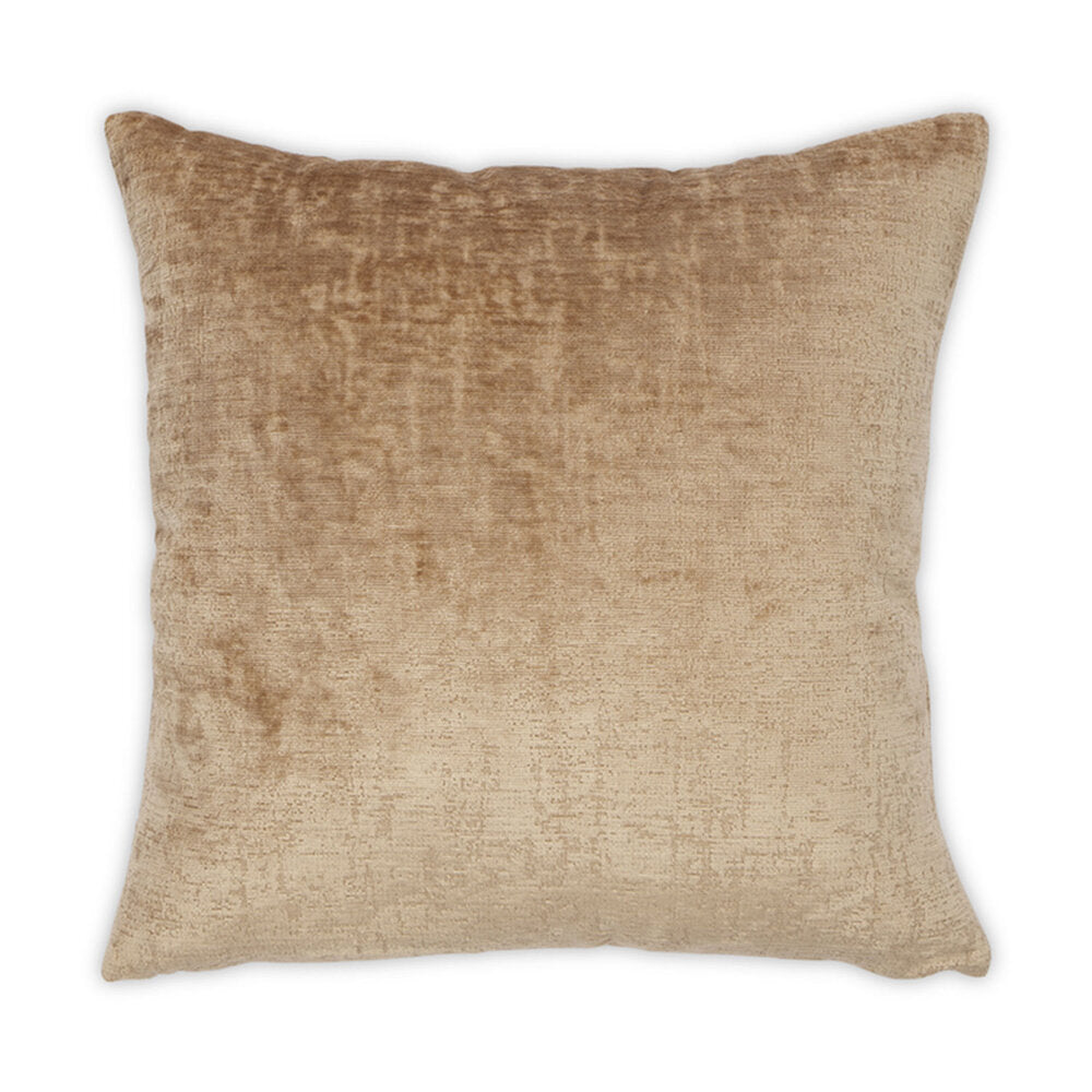 Banks Pillow in Quince design by Moss Studio
