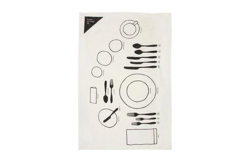 Place Setting 101 Tea Towel design by Sir/Madam