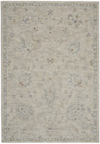 Infinite Rug in Light Grey by Nourison