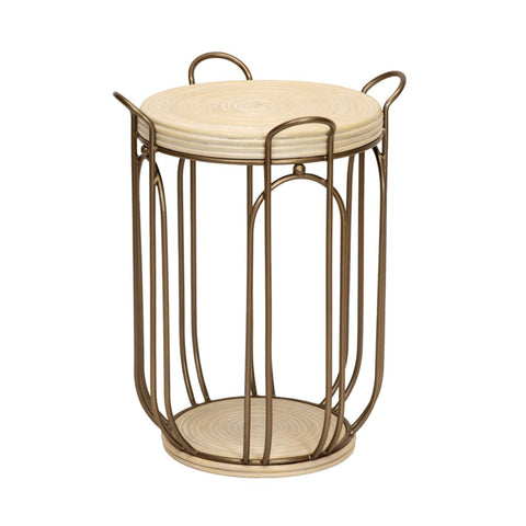 Plaza Side Table in Natural design by Selamat