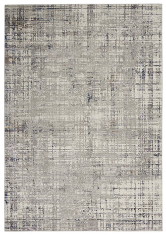 Royal Terrace Rug in Grey & Multi by Kathy Ireland