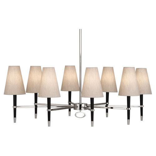 Jonathan Adler Collection Oval Chandelier design by Robert Abbey