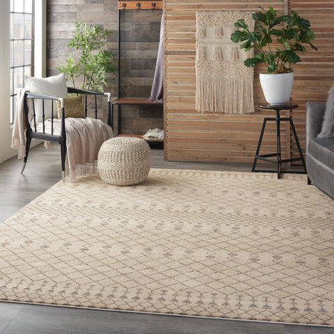Palermo Rug in Beige/Grey by Nourison