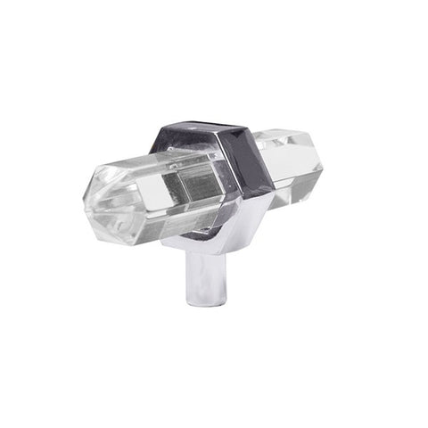 Prism Acrylic Knob w/ Nickel Center design by BD Studio