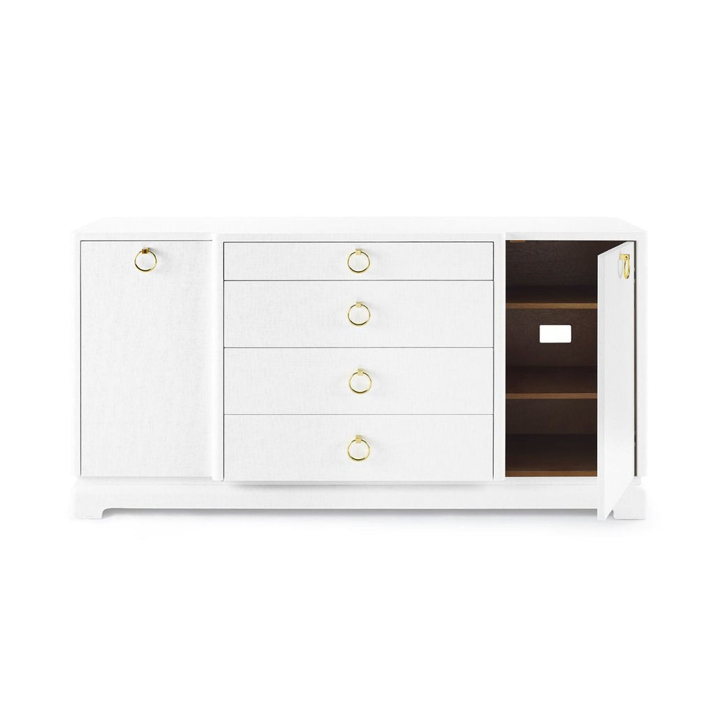 Pavel 4-Drawer & 2-Door Cabinet by Bungalow 5