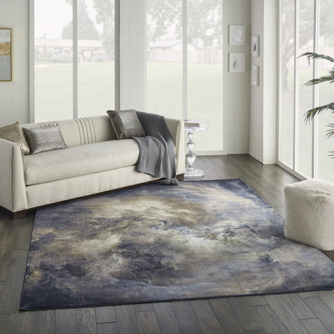 Le Reve Rug in Chocolate/Multicolor by Nourison