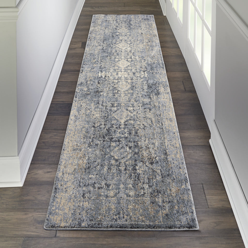 Moroccan Celebration Rug in Slate by Kathy Ireland