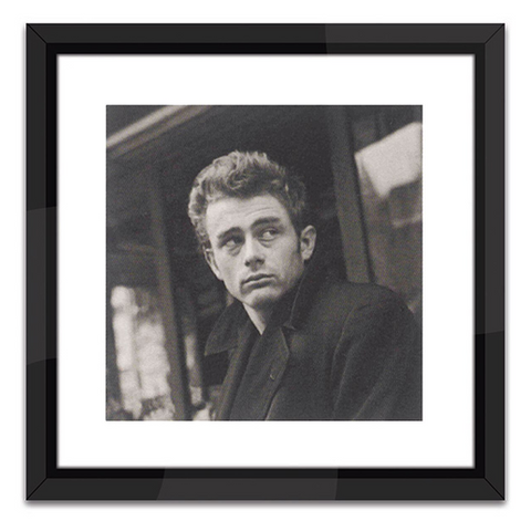 James Dean in Black and White Print